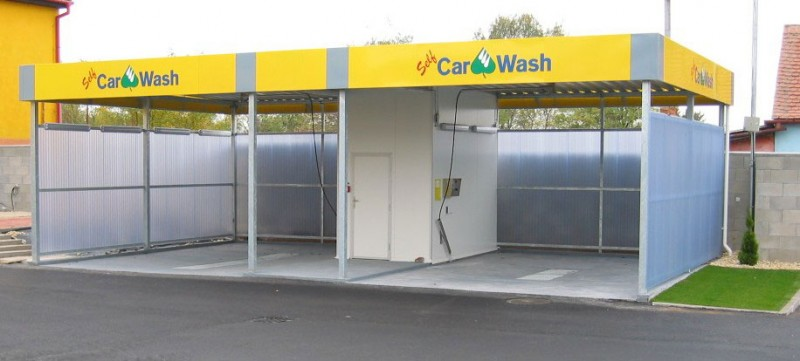 Prefabricated Buildings Of Car Washes